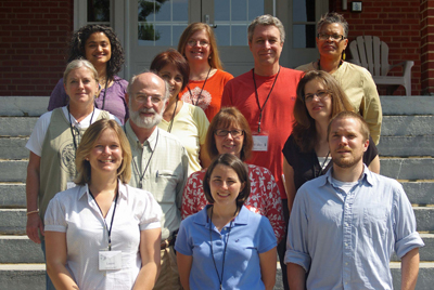 Dave Deal and classmates at Summer Peacebuilding Institute, Eastern Mennonite University, June 2009.